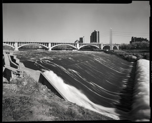 St Anthony Falls, Minneapolis, MN