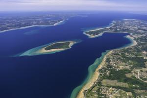Power Island looking north