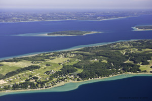 Old Mission west past Power Island and the leelanau